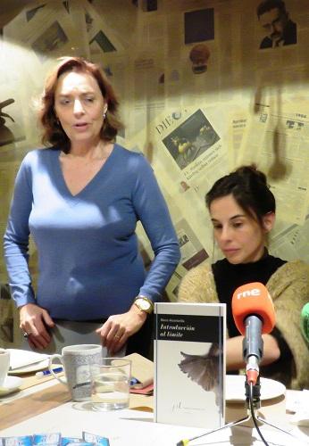 Ana Gavín y María Alcantarilla