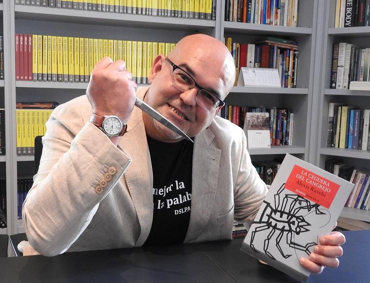 Alexis Ravelo y 'La ceguera del Cangrejo'