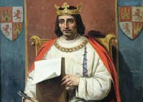 El rey Alfonso X el Sabio de León y de Castilla. Su vida y época