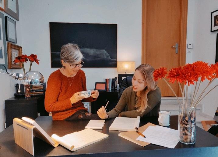 Reunión de las editoras de Amor de Madre