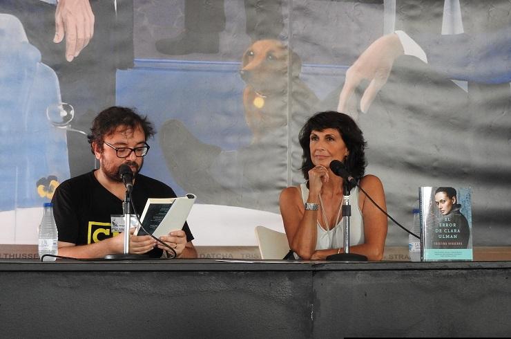 Ángel Sucasas y Cristina Higueras