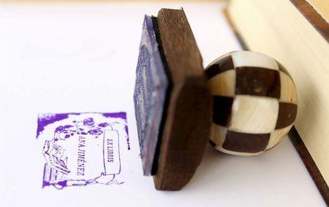 Ex Libris artesana madre perla coco