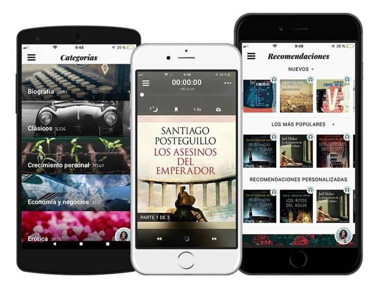 Audiolibros Storytel