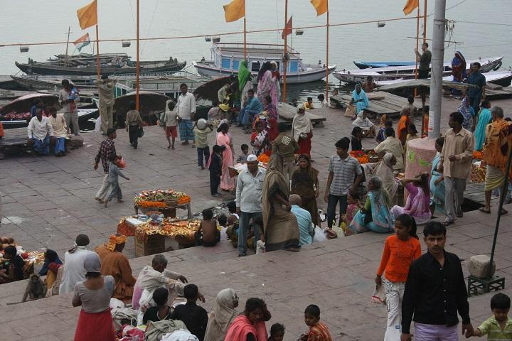El Ganges a su paso por Benarés