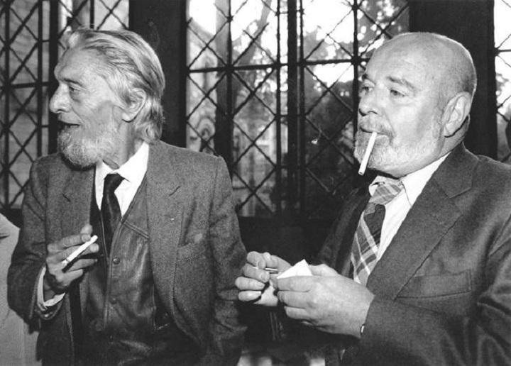 Carlos Barral y Jaime Gil de Biedma