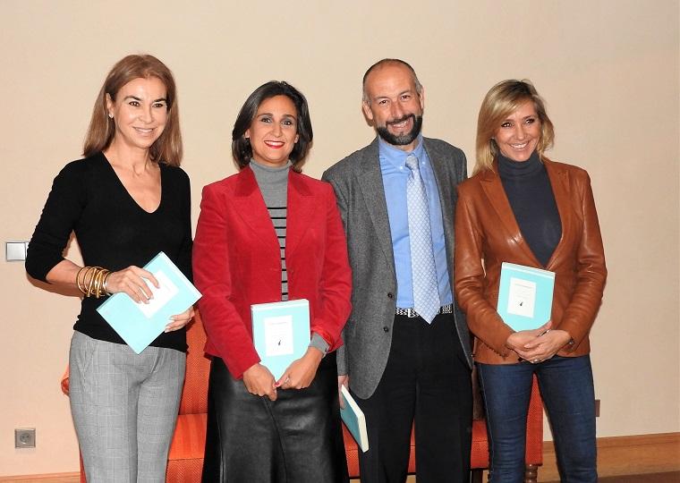 Carmen Posadas, Beatriz Ledesma, Francisco Javier Expósito y Marta Robles
