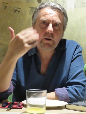 "Felipe Benítez autor de ""El intruso honorífico"""