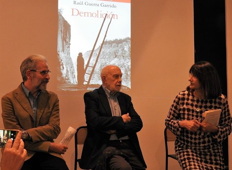 Álvaro Bermejo, Raúl Guerra Garrido y Valeria Ciompi