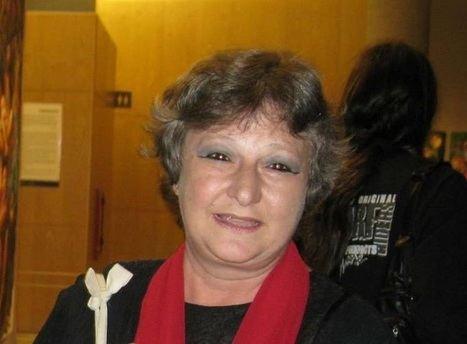 """Entrevista a Bibi Albert: """"La sangre… La sangre es mi tinta. Con ella escribo. Si no, no sirve"""""""