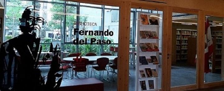 La biblioteca Fernando del Paso en Beirut