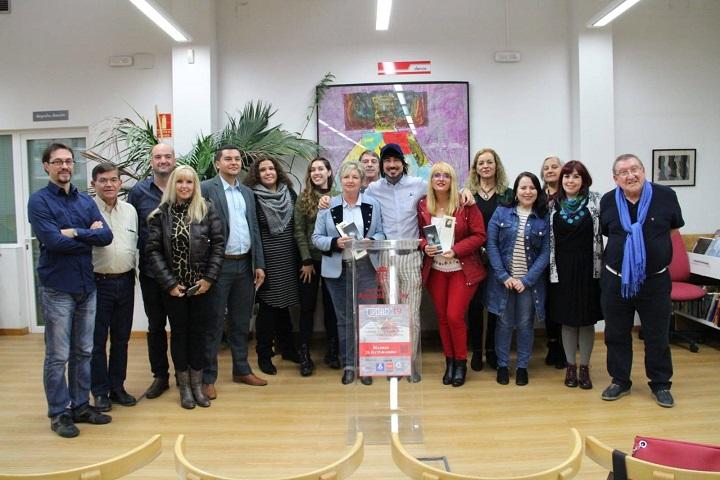 Poetas y editores en la Biblioteca Pablo Neruda de Arganda
