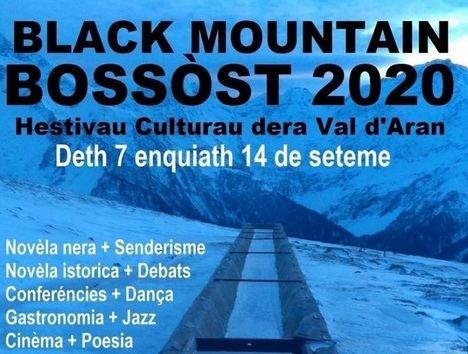 El 7 de septiembre arrancará, por fin, la IV Edición del Festival Literario Black Mountain Bossòst