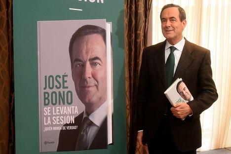 José Bono presenta su nuevo libro,