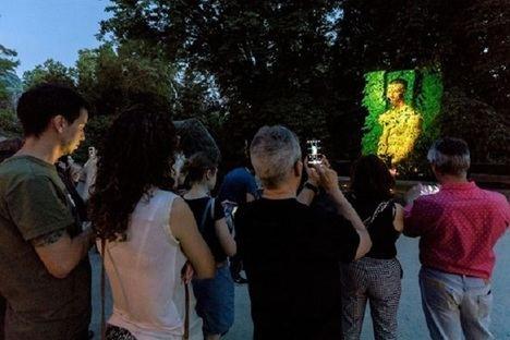 Proyecciones nocturnas de fotografía y artes visuales en El Real Jardín Botánico