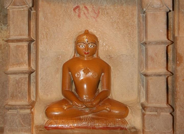 Figura de un templo jainista