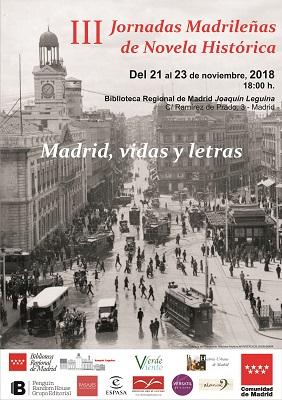Cartel de las jornadas madrileñas