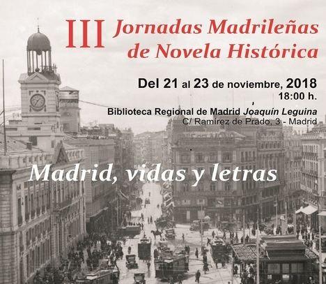 Benito Pérez Galdós, Carmen Posadas, la censura y hoteles legendarios se dan cita en las III Jornadas Madrileñas de Novela Histórica