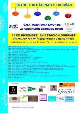 gala maratón a favor de la Asociación Síndrome de Down