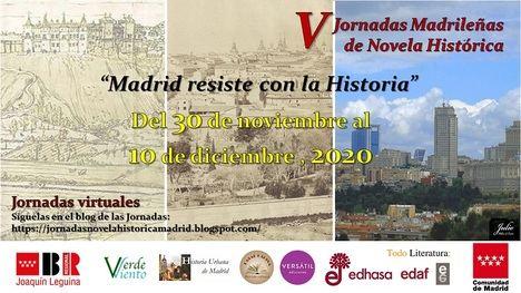 El 30 de noviembre comienzan las V Jornadas madrileñas de novela histórica
