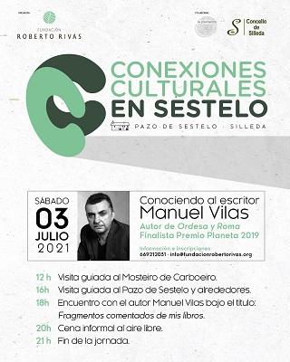 Fundación Roberto Rivas inaugura sus Conexiones Culturales en Sestelo con un encuentro con el escritor Manuel Vilas