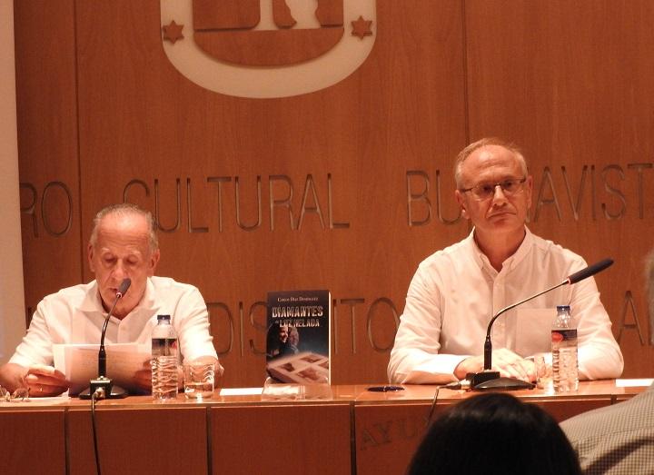 Javier del Olmo y Carlos Díaz Domínguez