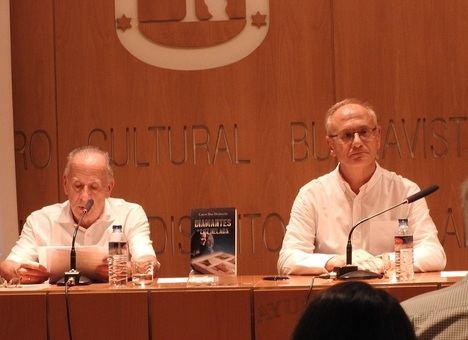 """Carlos Díaz Domínguez presenta su nueva novela """"Diamantes de luz helada"""""""