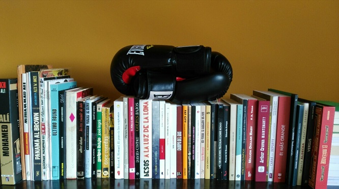 Colección libros de boxeo