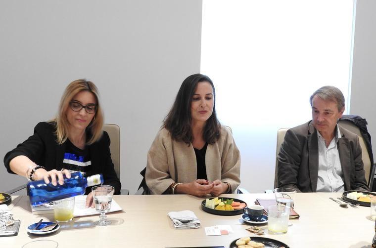 Palmira Márquez, Phil Camino y Joan Tarrida