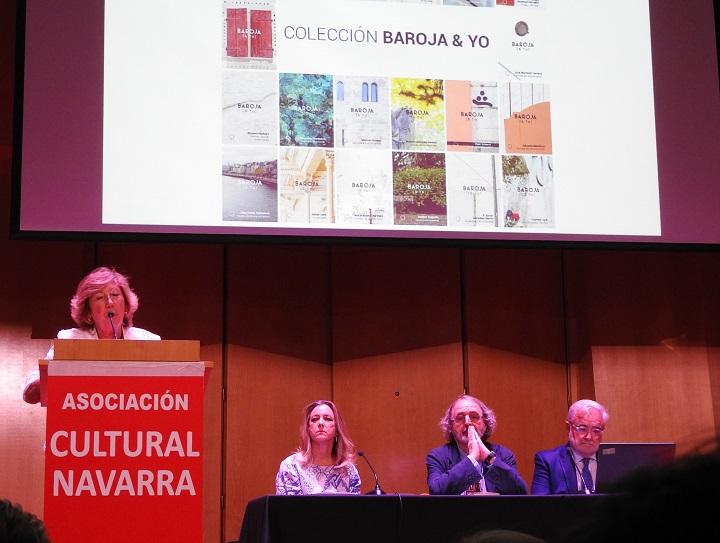Inmaculada Alegría, Carmen Caro, Jon Juaristi y Joaquín Ciáurriz