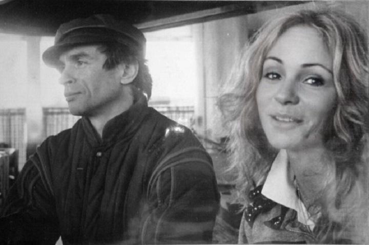 Carmen Iriondo con Rudolf Nureyev