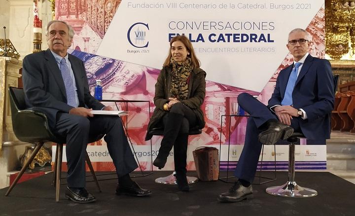 Antonio Pérez Henares, Carmen Posadas y Emilio Lara