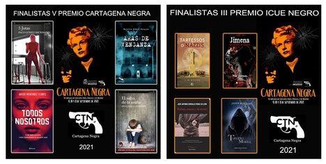 Se dan a conocer los finalistas del V Premio de Novela Cartagena Negra