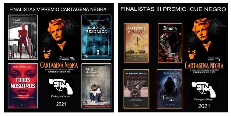 Finalistas de Cartagena Negra