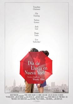 """Woody Allen, """"Día de lluvia en Nueva York"""": la acrobacia de los encuentros casuales, sin más"""