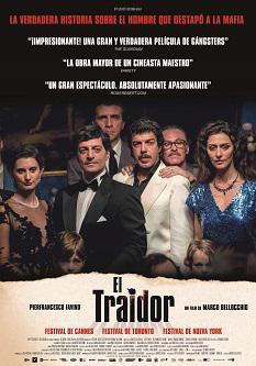 """Se estrena """"El traidor"""", coescrita y dirigida por Marco Bellochio, sobre la historia del hombre que destapó a la mafia"""