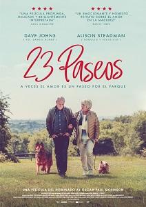 """Se estrena la película """"23 Paseos"""", escrita y dirigida por Paul Morrison"""