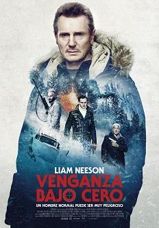 """Se estrena el thriller """"Venganza bajo cero"""", dirigida por el noruego Hans Petter Moland y protagonizada por Liam Neeson"""