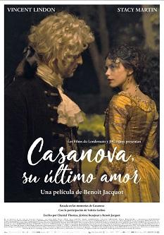 """""""Casanova, su último amor"""", dirigida por Benoit Jacquot, el mito de un hombre eternamente enamorado"""