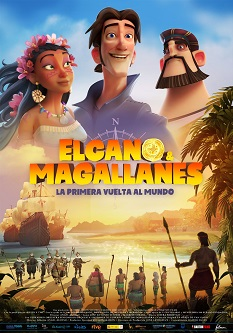 """Se estrena el largometraje de animación """"Elcano y Magallanes, La Primera Vuelta al Mundo"""", dirigida por Ángel Alonso"""