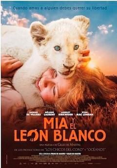 """""""Mia y el león blanco"""", dirigida por Gilles de Maistre, rodada en tiempo real durante tres años"""