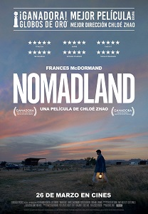 """Se estrena """"Nomadland"""", coproducida, escrita y dirigida por Chloé Zhao"""