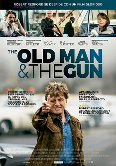 "Se estrena ""The old man and the gun"", escrita y dirigida por David Lowery"