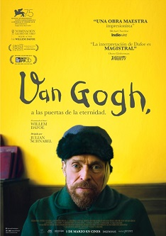 Se estrena la película 'Van Gogh, a las puertas de la eternidad', coescrita y dirigida por Julian Schnabel