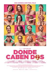 """Se estrena """"Donde caben dos"""", coescrita y dirigida por Paco Caballero, una película desenfadada y provocativa"""