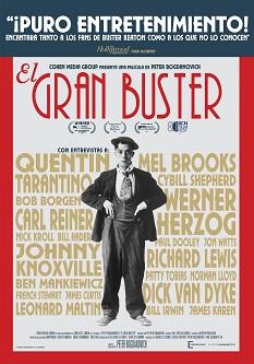 """""""El gran Buster"""", escrita, dirigida y narrada por el dos veces nominado al Oscar Peter Bogdanovich"""