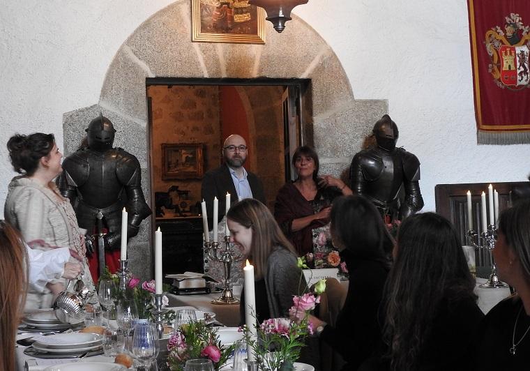 Presentación de la novela 'La cocinera de Castamar'