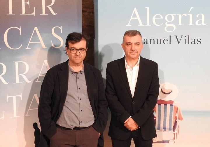 Javier Cercas y Manuel Vilas