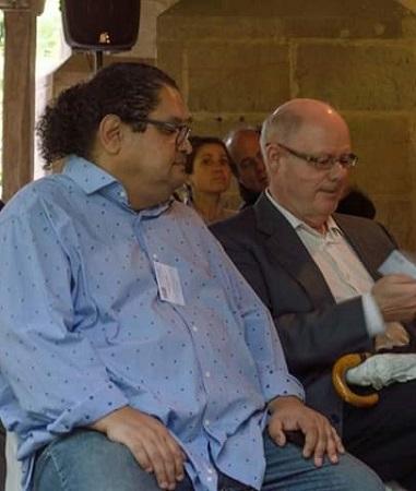 Juan Carlos Chirinos y José Joaquín Bermúdez