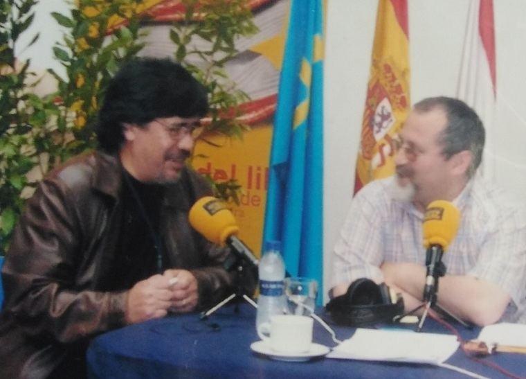 Luis Sepúlveda y Miguel Esteban Torreblanca