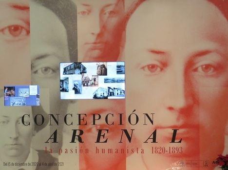 """Se abre la Exposición """"Concepción Arenal. La pasión humanista 1820- 1893"""" en la Biblioteca Nacional"""